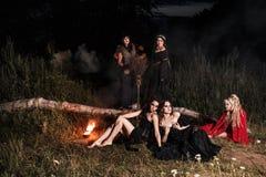 Réunion de sorcières de Whitches Image stock