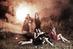 Réunion de sorcières de Whitches Images stock
