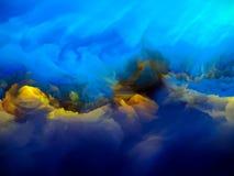 Réunion des feuilles de glace photo libre de droits