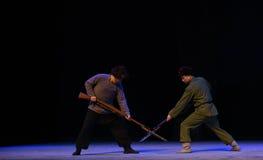 """Réunissez-vous sur l'opéra de champ de bataille-Pékin """"Taking le  de € de Tiger Montain By Strategyâ Images libres de droits"""