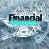 Réussite financière image stock