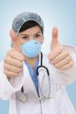 Réussite médicale de femme Photographie stock libre de droits