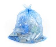 réutilisation de bleu de sac Image stock