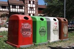 Réutilisation de déchets photographie stock libre de droits