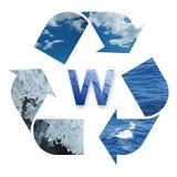 Réutilisation de l'eau Image libre de droits