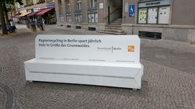 Réutilisation de la chaise Images libres de droits