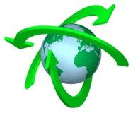 Réutilisation de la terre Photos libres de droits