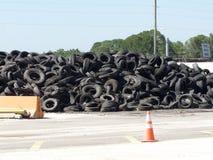 Réutilisation de pneu Image stock