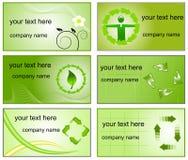 Réutilisation des logos et des descripteurs de cartes de visite professionnelle de visite Image stock