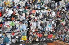 Réutilisation des ordures photo libre de droits
