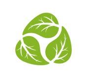 Réutilisation du logo Photographie stock libre de droits