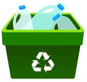 Réutilisation du plastique Image stock