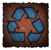 Réutilisation du symbole 3d Photographie stock