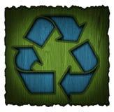 Réutilisation du symbole 3d Images stock