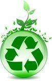 Réutilisation environnementale globale illustration libre de droits