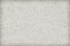Réutilisez de papier outre de la texture supplémentaire blanche de grunge de vignette de céréale secondaire Photos libres de droits