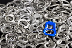 Réutilisez l'aluminium photos libres de droits