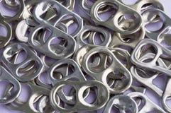 Réutilisez l'aluminium photo stock