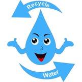 Réutilisez l'eau illustration de vecteur