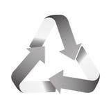 Réutilisez l'image d'icône de flèches Photo stock