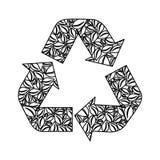 Réutilisez l'image d'icône de flèches Photo libre de droits