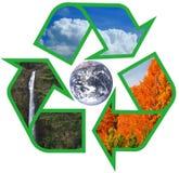 Réutilisez la terre illustration de vecteur