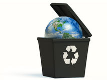 Réutilisez la terre Photos libres de droits