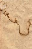 Réutilisez la texture grunge chiffonnée de papier de Brown emballage Image libre de droits