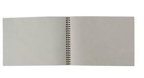 Réutilisez le cahier de papier Photos stock