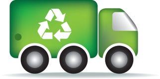 Réutilisez le camion d'ordures Images stock