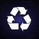 Réutilisez le logo Photo stock