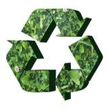 Réutilisez le symbole avec la texture d'herbe Photos libres de droits
