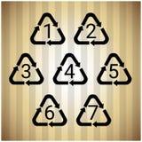 Réutilisez le symbole Logo Set Web Icon Image libre de droits