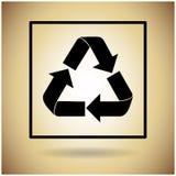 Réutilisez le symbole Logo Web Icon Photo stock