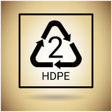 Réutilisez le symbole Logo Web Icon Image stock
