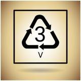 Réutilisez le symbole Logo Web Icon Images stock