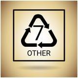 Réutilisez le symbole Logo Web Icon Photographie stock