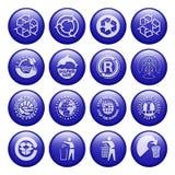 Réutilisez les boutons Image libre de droits