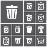 Réutilisez les coffres Image stock