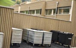 Réutilisez les conteneurs de coffre Photo libre de droits