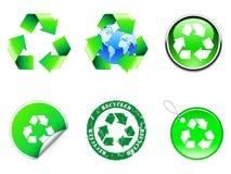 Réutilisez les symboles. Images libres de droits
