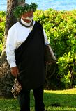 Révérend Laki Kaahumanu Photo stock