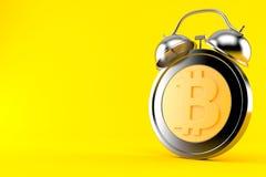 Réveil de Bitcoin Illustration Libre de Droits