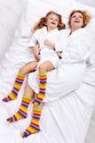 Réveil heureux Photographie stock libre de droits