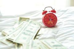 Réveil pendant le matin photo stock