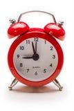 Réveil rouge Photographie stock libre de droits