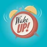 Réveillez le réveil Photo stock