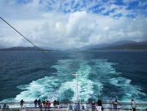 Croisière par la Nouvelle Zélande Images stock