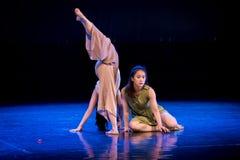 Réveillez-vous d'un rêve 2-Act 1 : Pays des merveilles Dormir-moderne de danse images libres de droits