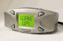 Réveillez-vous ! Horloge d'alarme photos stock